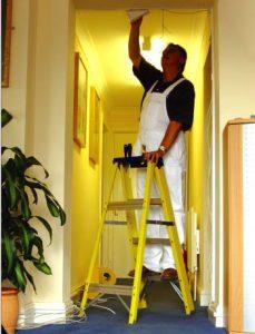 Low cost GRP Fibreglass step ladder Hire